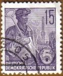 Stamps Germany -  Trabajador del acero