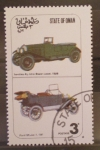 Stamps Asia - Oman -  coches antiguos