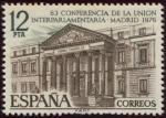 Stamps : Europe : Spain :  Edificios y monumentos