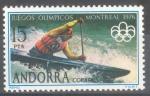 Sellos de Europa - Andorra -  ANDORRA 1976_105 XXI Juegos Olímpicos en Montreal.
