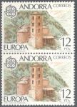 Stamps Andorra -  ANDORRA 1978_118x2 Europa
