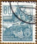 Stamps Germany -  Trabajadora de Agricultura