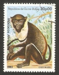 Stamps Africa - Guinea Bissau -  Macaco Africano