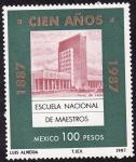 Stamps America - Mexico -  ESCUELA NACIONAL DE MAESTROS