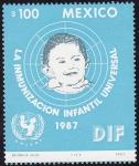 Stamps Mexico -  LA INMUNIZACIÓN INFANTIL UNIVERSAL