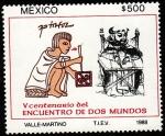 Stamps Mexico -  500 años del ncuentro de dos mundos