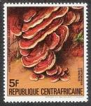 Stamps Africa - Central African Republic -  SETAS-HONGOS: 1.127.011,00-Leptoporus lignosus