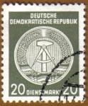Sellos de Europa - Alemania -  Escudo de la Republica