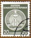 Stamps Germany -  Escudo de la Republica