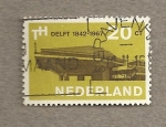 Stamps Netherlands -  Ciudad de Delft