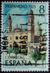 Stamps Spain -  La Catedral / Montevideo