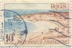 Stamps France -  Royan