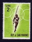 Sellos de Europa - San Marino -  SALTO DE PERTIGA