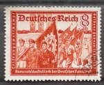 Sellos de Europa - Alemania -  federacion de carteros alemanes