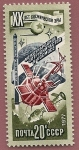 Stamps Russia -  Cooperación espacial