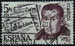 Sellos de Europa - Espa�a -  Miguel Hilari�n Eslava y Elizondo (1807-1878)