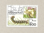 Stamps Afghanistan -  Celerio euphorbiae