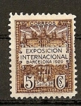 Stamps of the world : Spain :  Exposicion Internacional Barcelona 1929.