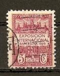 Sellos del Mundo : Europa : España : Exposicion Internacional Barcelona 1929.