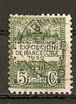 Stamps Spain -  Exposicion de Barcelona 1930.