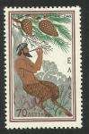 Stamps : Europe : Greece :  Mitología griega. Dios Pan tocando la flauta doble (aulós)