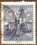 Stamps Austria -  Edificios - SALZBURG