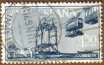 Stamps of the world : Spain :  IFNI - Teleferico del embarcadero SIDI IFNI