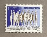 Stamps Hungary -  25 Aniv Liberación campos extermino nazis