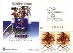 Stamps Andorra -  Juegos Olímpicos de Sydney 2000 - Atletismo - SPD