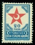 Sellos de Asia - Turquía -  Media Luna Roja