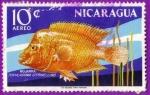 Stamps Nicaragua -  Mojarra