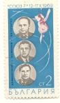 Sellos de Europa - Bulgaria -  CO1037 12-17 X 1969