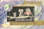 Stamps Hungary -  Apollo 11