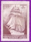 Stamps : America : Chile :  Sesquicentenario de la escuela nava Arturo Prat
