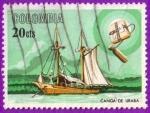 Sellos del Mundo : America : Colombia :  Canoa de Uraba