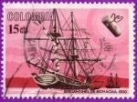 Sellos del Mundo : America : Colombia :  Bergantines de Riohacha 1850