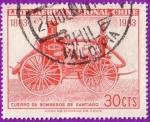 Stamps : America : Chile :  Cuerpo de Bomberos de Santiago