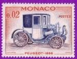 Stamps : Europe : Monaco :  Peugeot - 1898