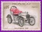 Stamps : Europe : Monaco :  Rolls-Royce - 1903