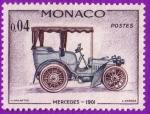 Stamps : Europe : Monaco :  Mercedes - 1901