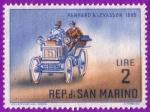 Stamps San Marino -  Panhard & Levassor - 1895