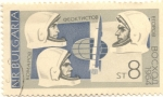 Stamps Bulgaria -  1964: Voskhod 1 (Russian: Восход-1)