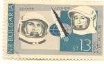 Sellos de Europa - Bulgaria -  1965: Voskhod 2.