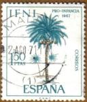 Stamps Spain -  IFNI - PALMERA DE COCO