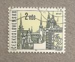 Stamps Czechoslovakia -  Ciudad de Brno