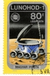 Stamps Hungary -  LUNOHOD-1
