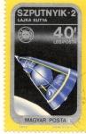 Stamps Hungary -  SZPUTNYIK-2
