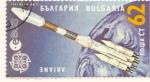 Sellos del Mundo : Europa : Bulgaria : ARIANE ESA