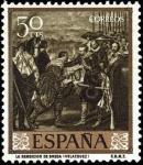 Stamps Spain -  Diego Velázquez