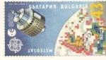 Sellos del Mundo : Europa : Bulgaria : METEOSAT ESA